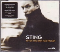 STING After The Rain Has Fallen EU CD5 w/4 Tracks