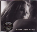 MARIAH CAREY My All UK CD5 w/4 Tracks