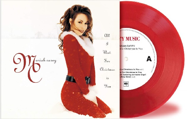 Mariah Carey All I Want For Christmas.Mariah Carey All I Want For Christmas Is You Japan 7 Red