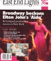 ELTON JOHN East End Lights (#37) USA Fan Club Magazine