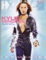 KYLIE MINOGUE HX (3/1/02) USA Gay Magazine