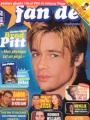 BRAD PITT Fan De (1/99) FRANCE Magazine
