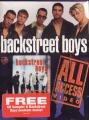 BACKSTREET BOYS All Access USA Video w/Free CD Sampler and Backs