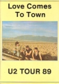 U2 Love Comes To Town UK Magazine