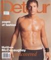 MATTHEW McCONAUGHEY Detour (Spring 2001) USA Magazine