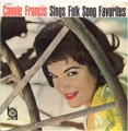CONNIE FRANCIS Sings Folk Song Favorites JAPAN LP [SL]