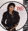 MICHAEL JACKSON Bad JAPAN LP Picture Disc