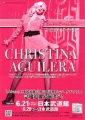 CHRISTINA AGUILERA 2007 Back To Basics Tour JAPAN Promo Tour Flyer