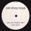PET SHOP BOYS Can You Forgive Her? UK 12