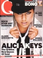 ALICIA KEYS Q (2/02) UK Magazine