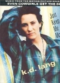 K.D.LANG Just Keep Me Moving UK 12`` w/Poster
