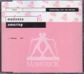 MADONNA Amazing GERMANY CD5 Promo w/1 Trk