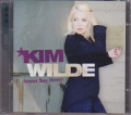 KIM WILDE Never Say Never EU CD Deluxe Edition w/Bonus DVD