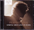 SIMPLY RED Perfect Love UK CD5 w/4 Live Tracks