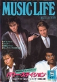 POWER STATION Music Life (1/85) JAPAN Magazine