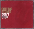 ROLLING STONES Don't Stop AUSTRALIA CD5 w/3 Tracks