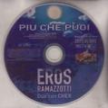 CHER w/EROS RAMOZZOTTI Piu Che Puoi SPAIN CD5 Promo w/1-Trk