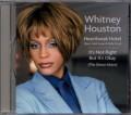 WHITNEY HOUSTON Heartbreak Hotel USA CD5