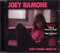 JOEY RAMONE Don't Worry About Me USA CD