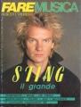 STING Fare Musica (10/85) ITALY Magazine
