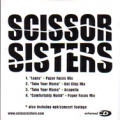 SCISSOR SISTERS Scissor Sisters USA CD5 Promo w/4 Tracks Enhance