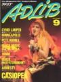 CYNDI LAUPER Adlib (9/86) JAPAN Magazine
