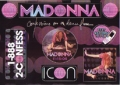 MADONNA Confessions On A Dance Floor USA Sticker Sheet Promo