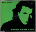 RICK ASTLEY Never Knew Love UK CD5 w/3 Tracks