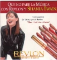 SHANIA TWAIN Man! I Feel Like A Woman SPAIN 1 Track Revlon Promo