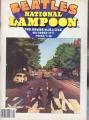 BEATLES National Lampoon (10/77) USA Magazine