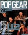 U2 Popgear (2/88) JAPAN Magazine