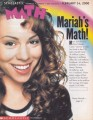MARIAH CAREY Scholastic Math (2/14/2000) USA Magazine