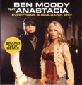 BEN MOODY Feat. ANASTACIA Everything Burns USA CD5 Promo