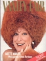 BETTE MIDLER Vanity Fair (12/87) USA Magazine