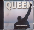 QUEEN Heaven For Everyone UK CD5 Part 1 w/3 Tracks