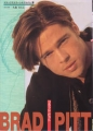 BRAD PITT Deluxe Color Cine Album JAPAN Picture Book