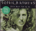 SOPHIE B. HAWKINS Don't Don't Tell Me No AUSTRIA CD5 Part 2