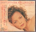 JANET JACKSON That's The Way Love Goes JAPAN CD5 w/6 Versions