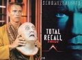TOTAL RECALL Original JAPAN Movie Program RARE!