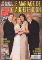 CELINE DION 7 Jours (12/26/98) CANADA Magazine