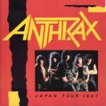 ANTHRAX 1987 JAPAN Tour Program