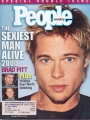 BRAD PITT People (11/30/00) USA Magazine