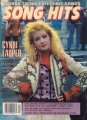 CYNDI LAUPER Song Hits (4/87) USA Magazine