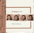 BOYZONE Where We Belong JAPAN CD w/17 Tracks