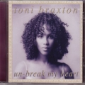 TONI BRAXTON Un Break My Heart USA CD5 w/4 Mixes