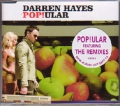 DARREN HAYES Pop!ular AUSTRALIA CD5 w/Remixes