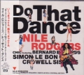 NILE RODGERS Do That Dance JAPAN CD5