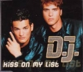D.J. Kiss On My List GERMANY CD5 w/Mixes!