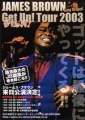 JAMES BROWN Get Up! JAPAN Tour Flyer
