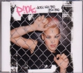 PINK Don't Let Me Get Me Remixes AUSTRALIA CD5 w/Live Track